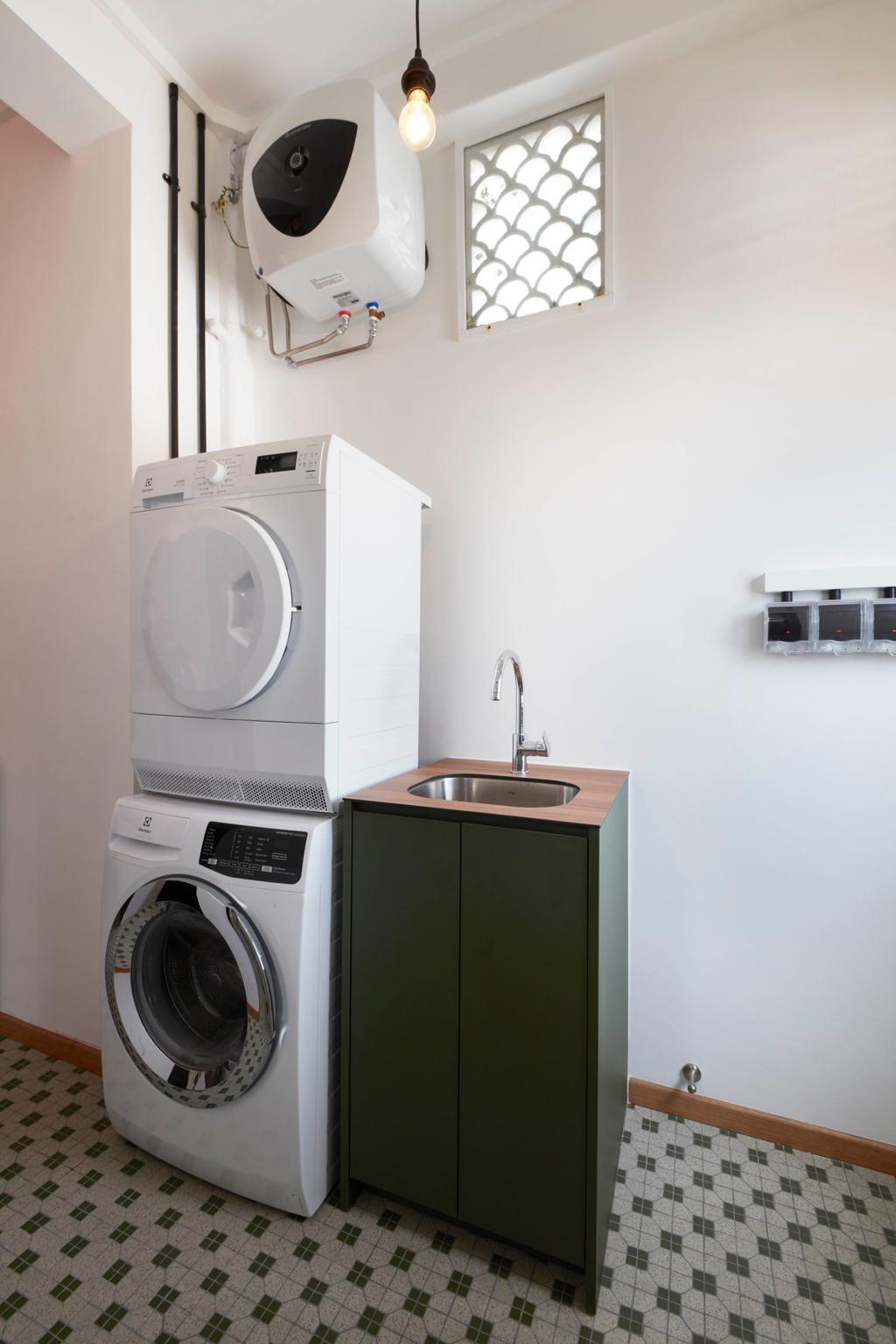 Eclectic, HDB, Kitchen, Joo Chiat, Interior Designer, Free Space Intent, Vintage