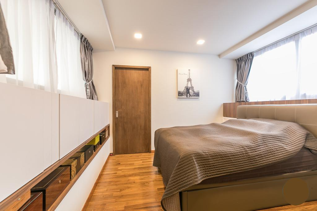 Contemporary, Condo, Bedroom, Evergreen View, Interior Designer, The Two Big Guys, Scandinavian