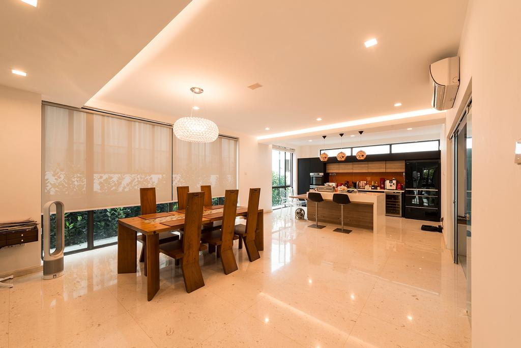 Contemporary, Landed, Dining Room, Crowhurst Drive, Interior Designer, The Two Big Guys