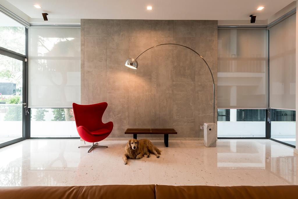 Contemporary, Landed, Living Room, Crowhurst Drive, Interior Designer, The Two Big Guys