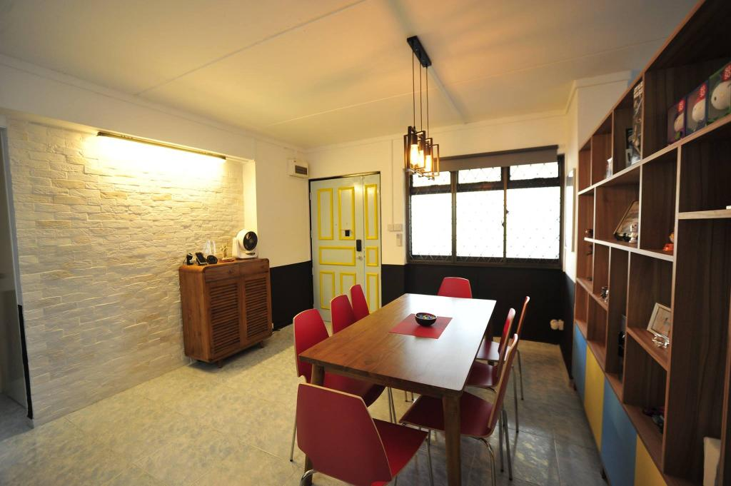 Contemporary, HDB, Dining Room, Jelapang Road, Interior Designer, The Two Big Guys