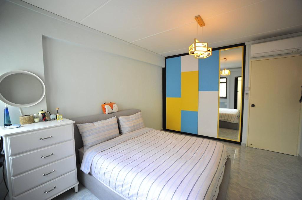 Contemporary, HDB, Bedroom, Jelapang Road, Interior Designer, The Two Big Guys