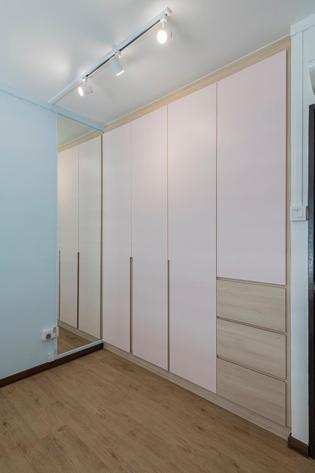 Modern, HDB, Bedroom, Jurong East Street 64, Interior Designer, The Two Big Guys, Contemporary