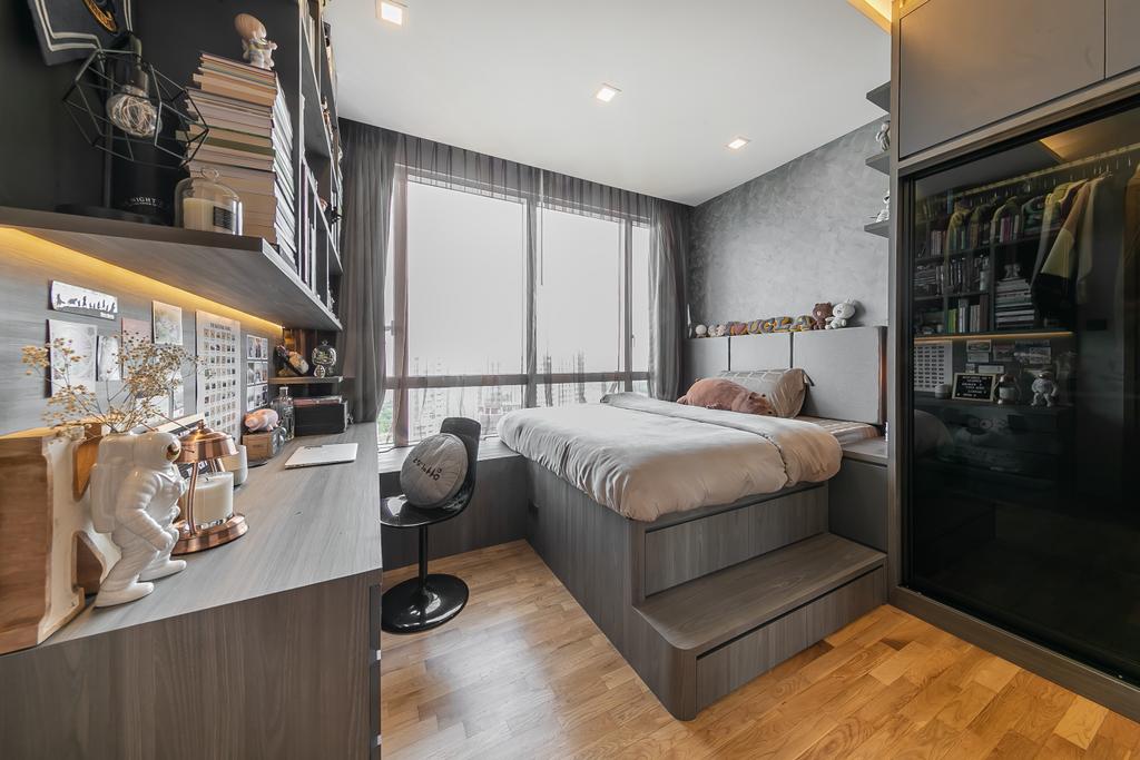 Contemporary, Condo, Bedroom, Amber Road, Interior Designer, The Two Big Guys