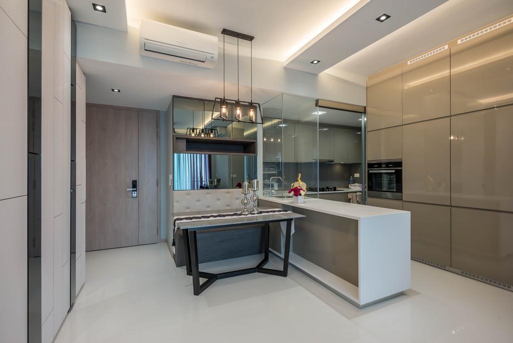 Modern, Condo, Kitchen, J Gateway, Interior Designer, One Design Werkz