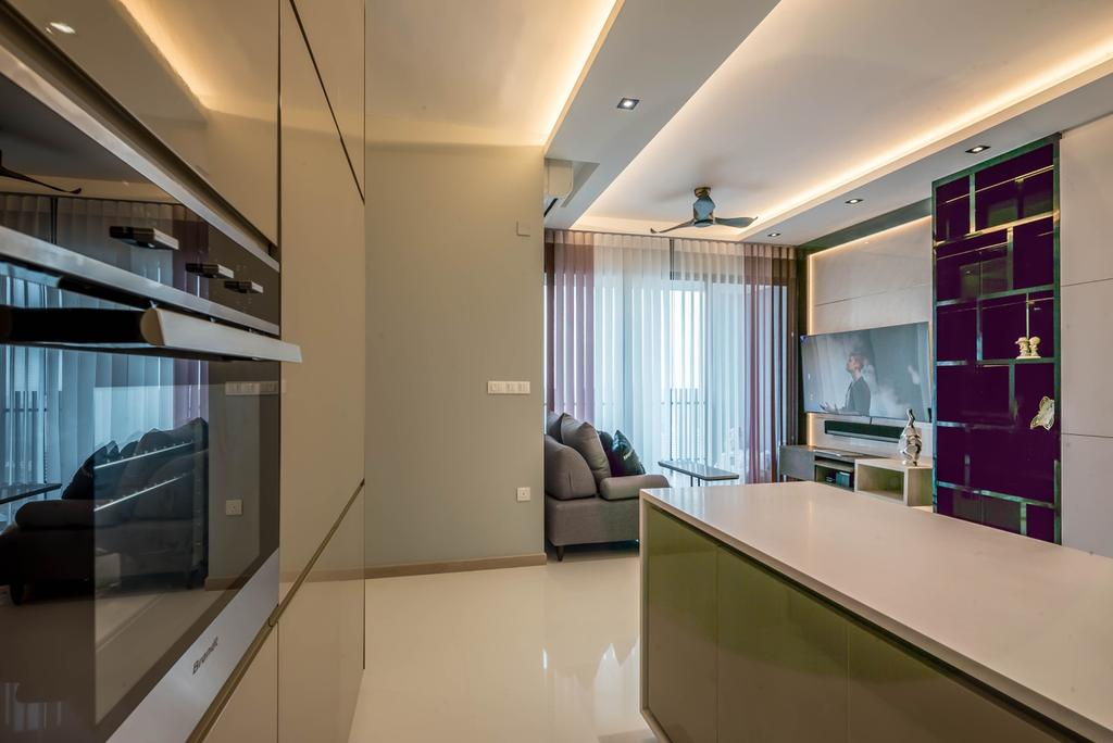 Modern, Condo, Kitchen, J Gateway, Interior Designer, One Design Werkz