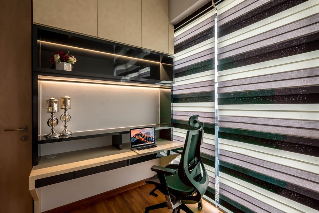 Modern, Condo, Study, J Gateway, Interior Designer, One Design Werkz