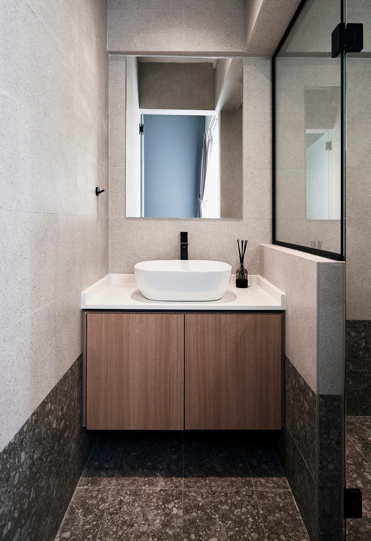 Contemporary, HDB, Bathroom, Clementi Avenue 5, Interior Designer, Happe Design Atelier