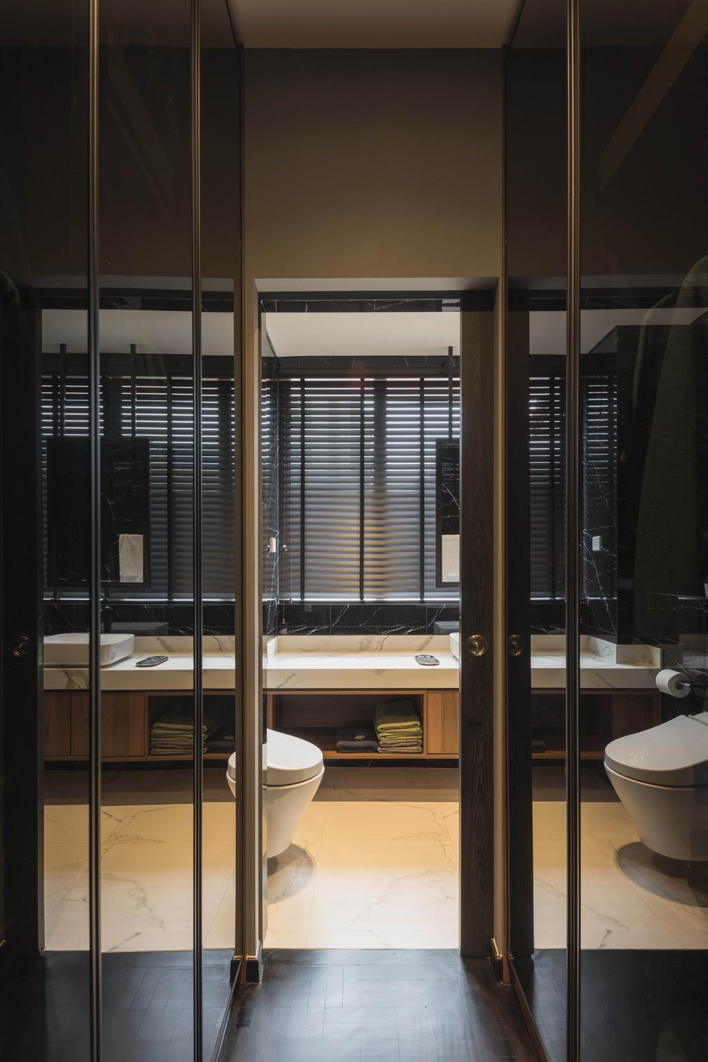 Contemporary, Landed, Bathroom, Lorong H Telok Kurau, Interior Designer, Posh Home