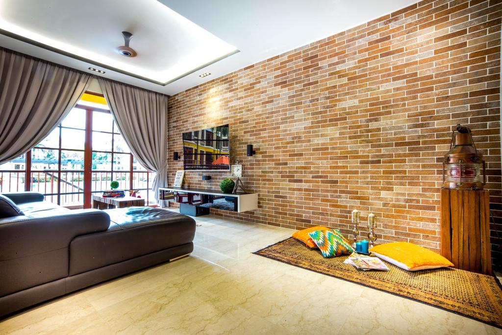 Contemporary, Condo, Living Room, Casafina, Interior Designer, One Design Werkz