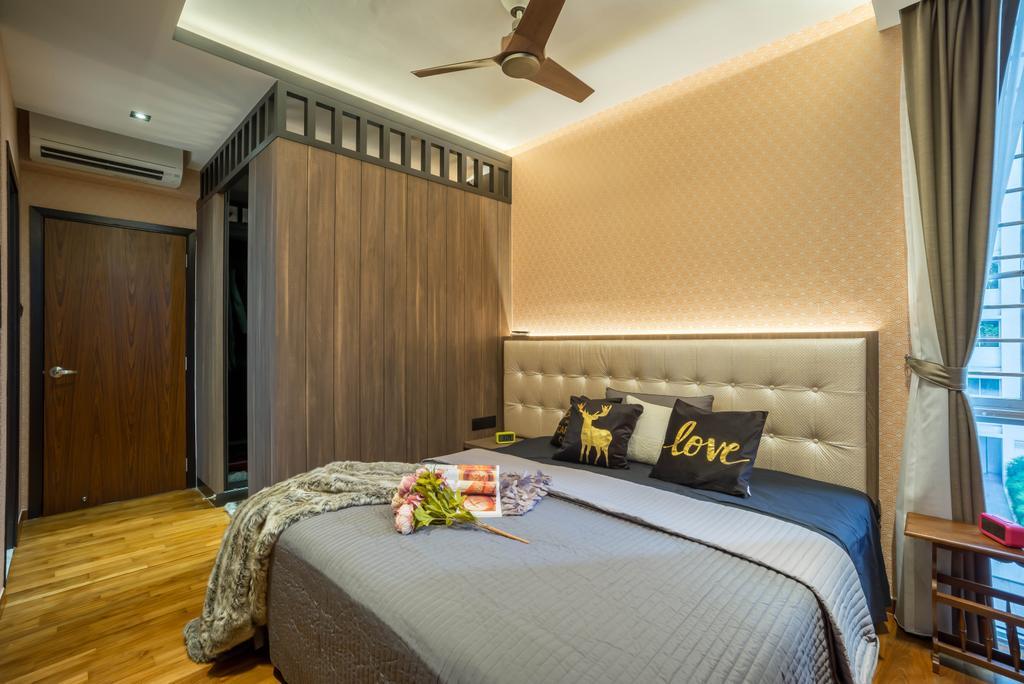 Modern, Condo, Bedroom, Grandeur 8, Interior Designer, One Design Werkz