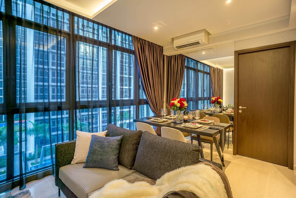 Modern, Condo, Dining Room, Symphony Suites, Interior Designer, One Design Werkz