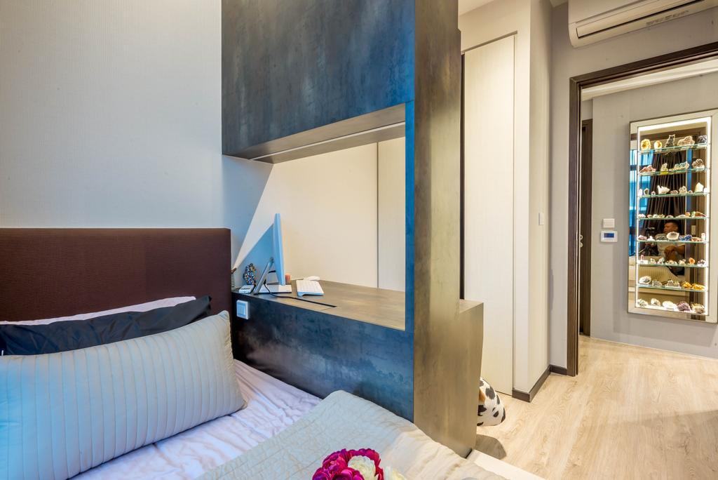 Transitional, Condo, Bedroom, Symphony Suites, Interior Designer, One Design Werkz