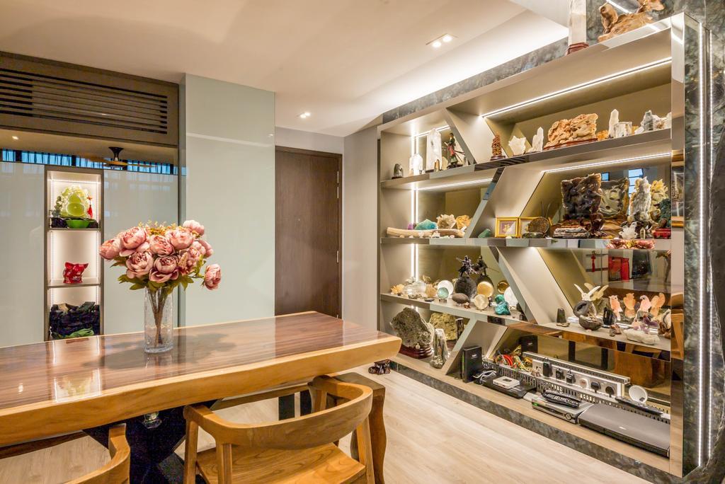 Transitional, Condo, Dining Room, Symphony Suites, Interior Designer, One Design Werkz