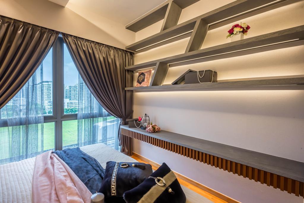 Modern, Condo, Bedroom, Watertown, Interior Designer, One Design Werkz, Contemporary
