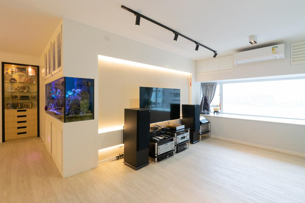 摩登, 私家樓, 和富中心, 室內設計師, 現時設計