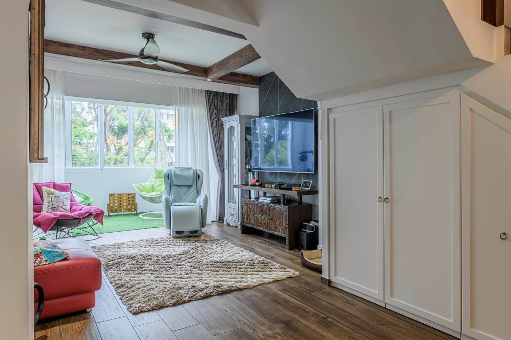 Eclectic, HDB, Living Room, Bishan Street 13, Interior Designer, Image Creative Design, Contemporary