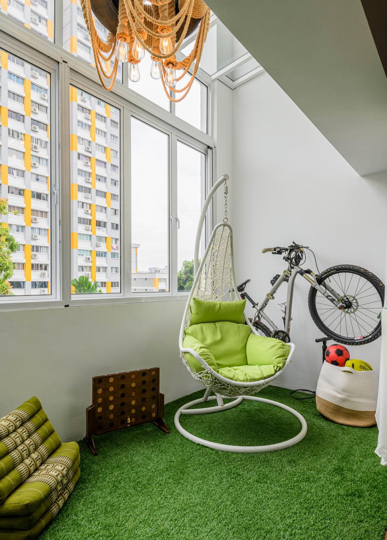 Eclectic, HDB, Balcony, Bishan Street 13, Interior Designer, Image Creative Design, Contemporary