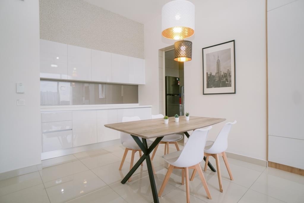 Modern, Condo, The Park Residence, Bukit Jalil, Interior Designer, Lakar Design & Construction