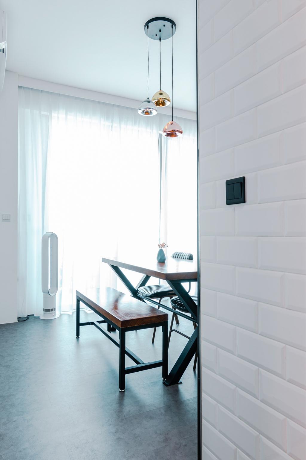 Industrial, Condo, Dining Room, The Canopy, Interior Designer, 9 Creation
