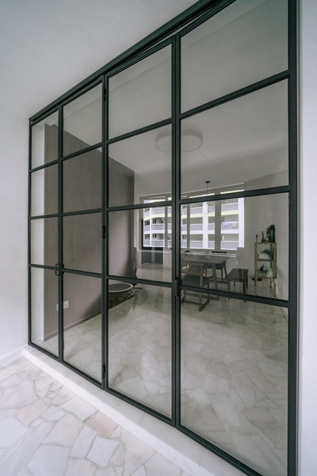 Contemporary, HDB, Dining Room, Fajar Road, Interior Designer, Key Concept