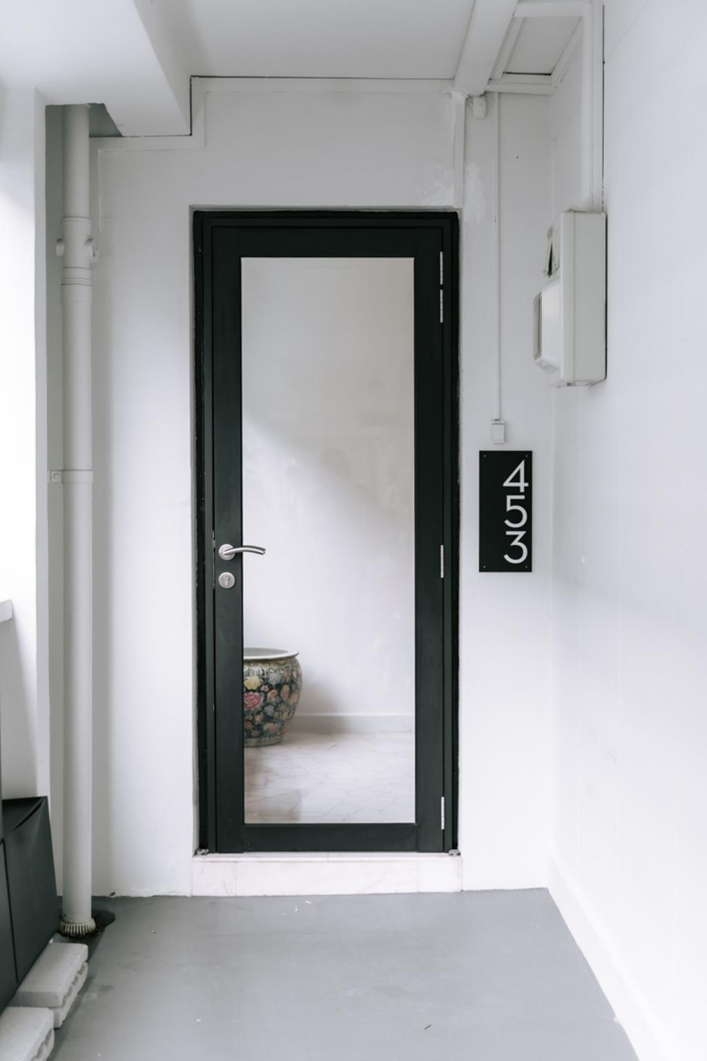 Contemporary, HDB, Fajar Road, Interior Designer, Key Concept, Door, Gate, Entrance