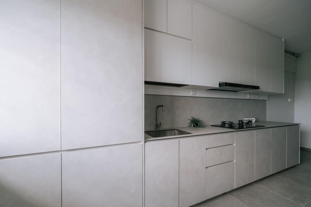 Contemporary, HDB, Kitchen, Jurong West Street 42, Interior Designer, Key Concept, Scandinavian