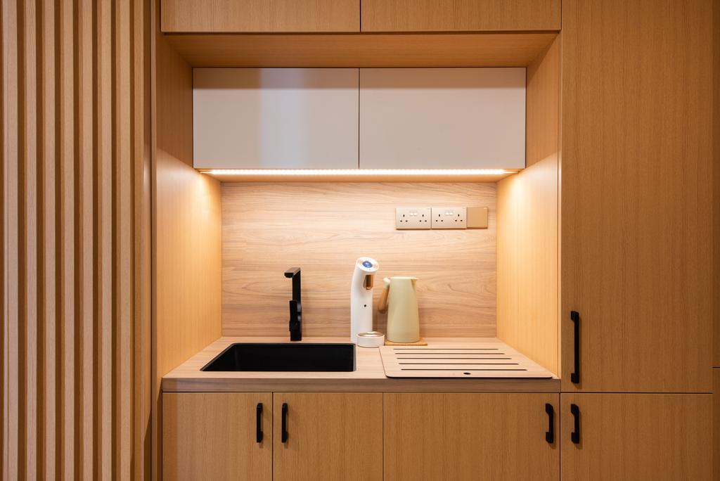 Minimalistic, HDB, Kitchen, Toa Payoh Lorong 8, Interior Designer, Dyel Design