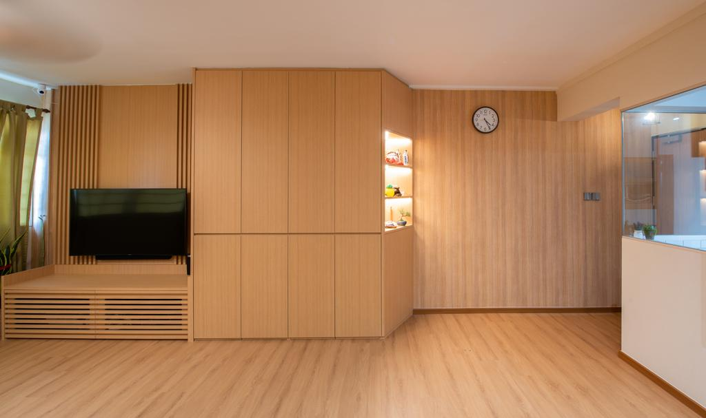 Minimalistic, HDB, Living Room, Toa Payoh Lorong 8, Interior Designer, Dyel Design, Muji, Japanese, Zakka