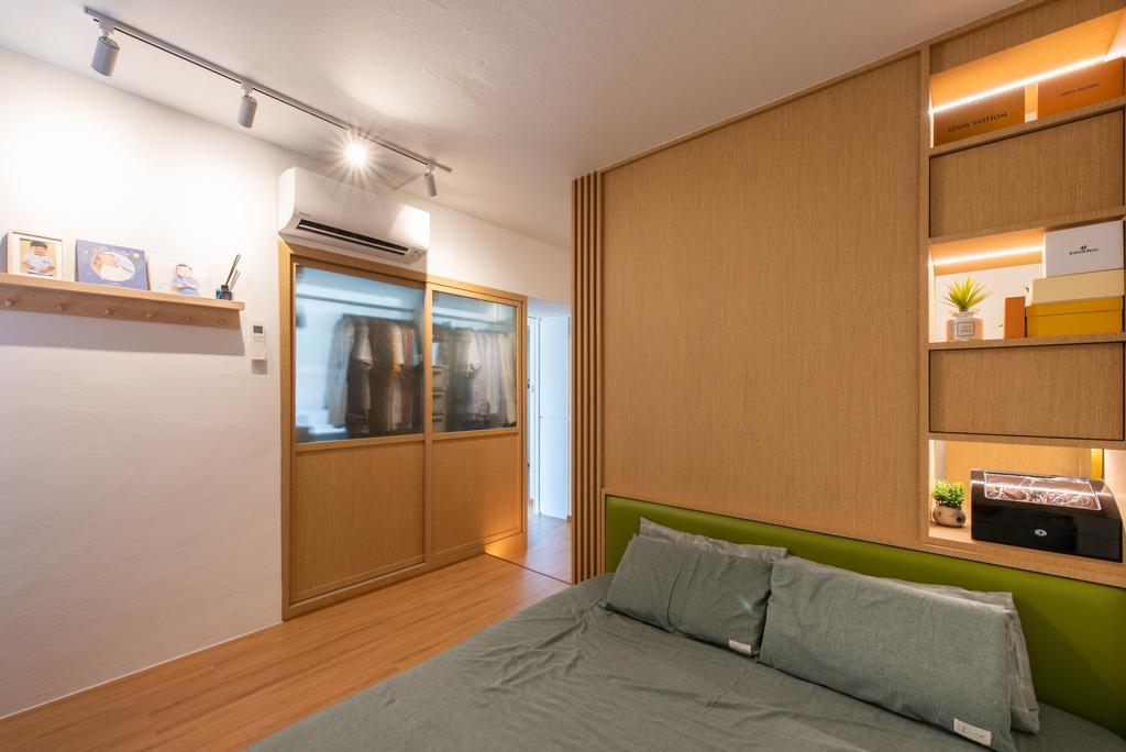 Minimalistic, HDB, Bedroom, Toa Payoh Lorong 8, Interior Designer, Dyel Design