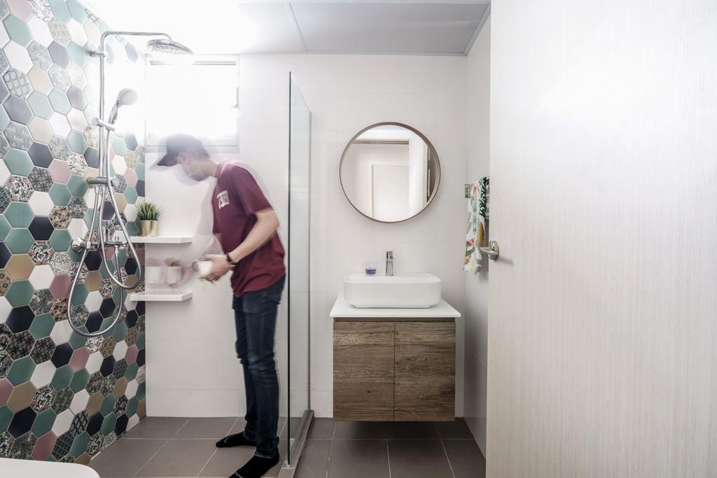 Contemporary, HDB, Bedok North Road, Interior Designer, Couple Abode, Scandinavian