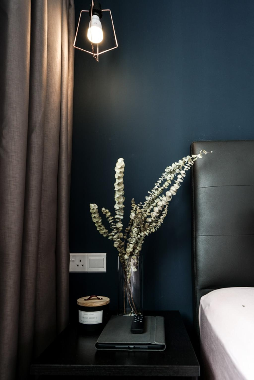 Contemporary, HDB, Bedroom, Bedok North Road, Interior Designer, Couple Abode, Scandinavian