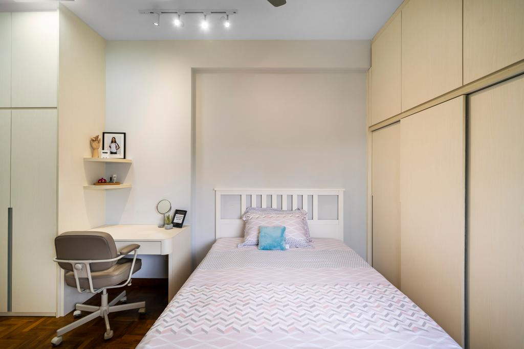 Modern, Condo, Bedroom, Mandarin Gardens, Interior Designer, Livspace, Contemporary