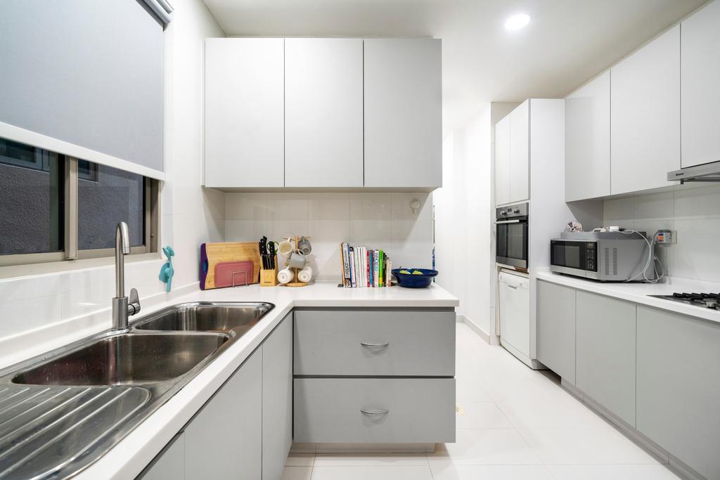 Contemporary, Condo, Kitchen, Maplewoods, Interior Designer, Livspace
