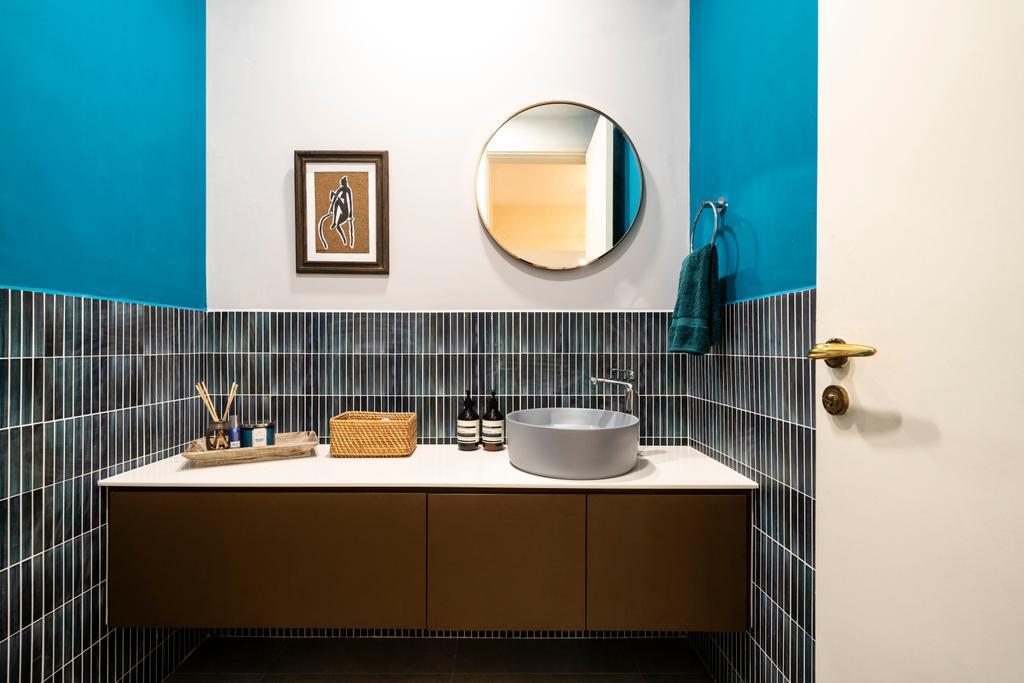 Contemporary, Condo, Bathroom, Maplewoods, Interior Designer, Livspace