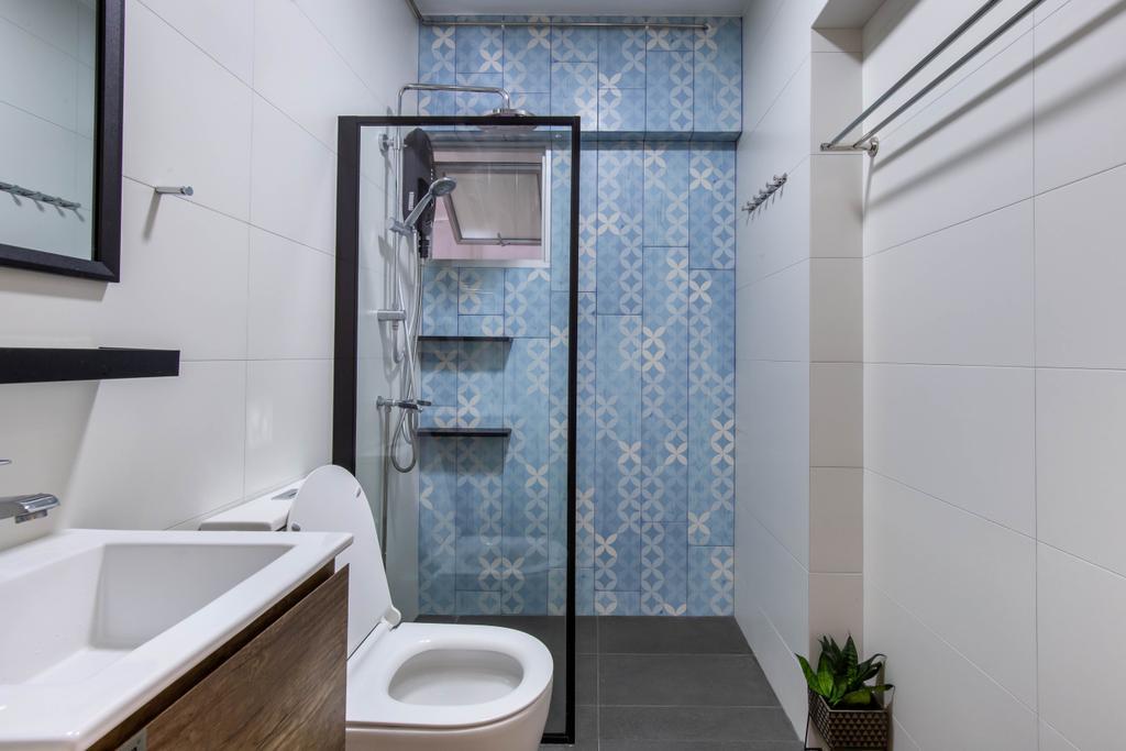 Scandinavian, HDB, Bedok Reservoir Road, Interior Designer, Ovon Design