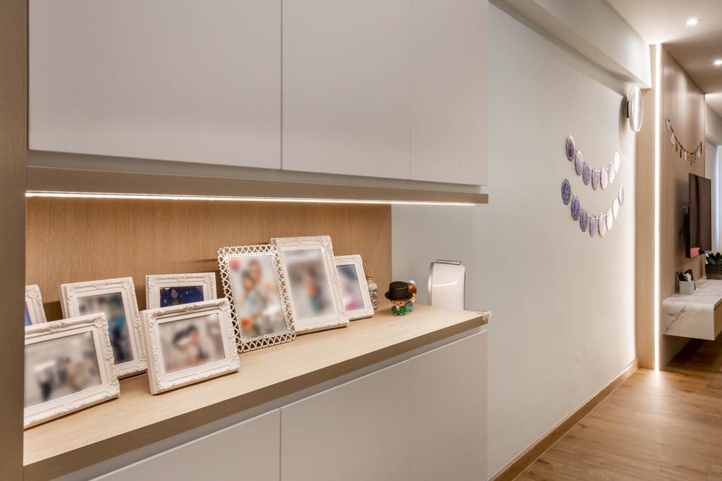 Scandinavian, HDB, Living Room, Bedok Reservoir Road, Interior Designer, Ovon Design