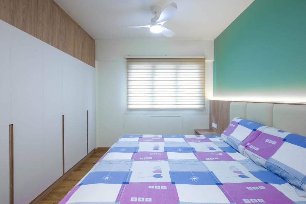 Scandinavian, HDB, Bedroom, Bedok Reservoir Road, Interior Designer, Ovon Design