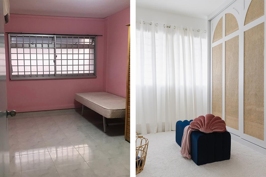 This HDB Flat Is Now a (Really) Elegant White-and-Wood Home 26