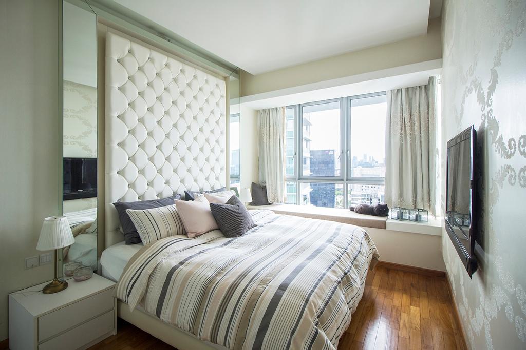 Contemporary, Condo, Bedroom, Pavilion 11, Interior Designer, Noble Interior Design