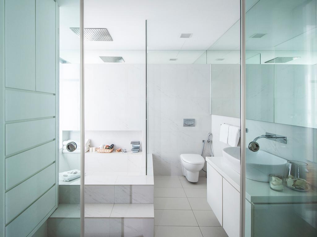 Contemporary, Condo, Bathroom, Pavilion 11, Interior Designer, Noble Interior Design