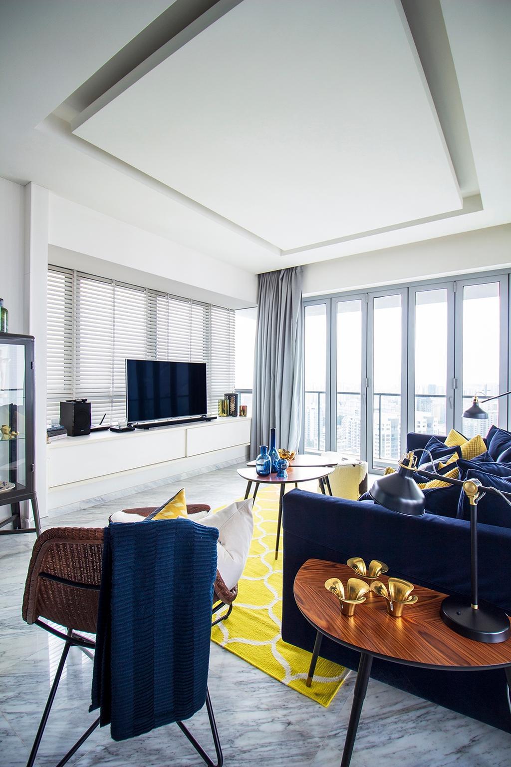 Contemporary, Condo, Pavilion 11, Interior Designer, Noble Interior Design