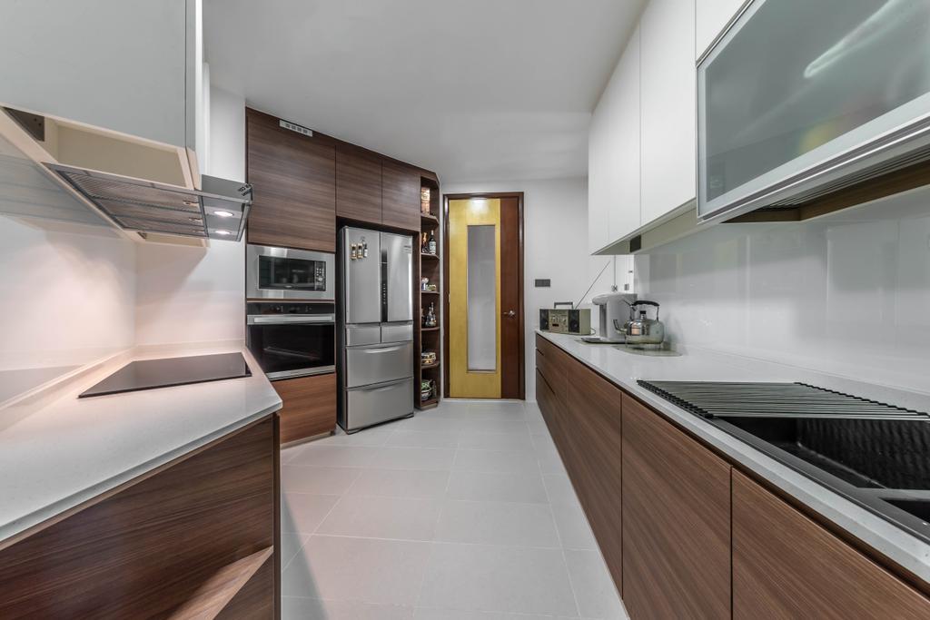 Contemporary, Condo, Kitchen, The Heliconia, Interior Designer, Noble Interior Design