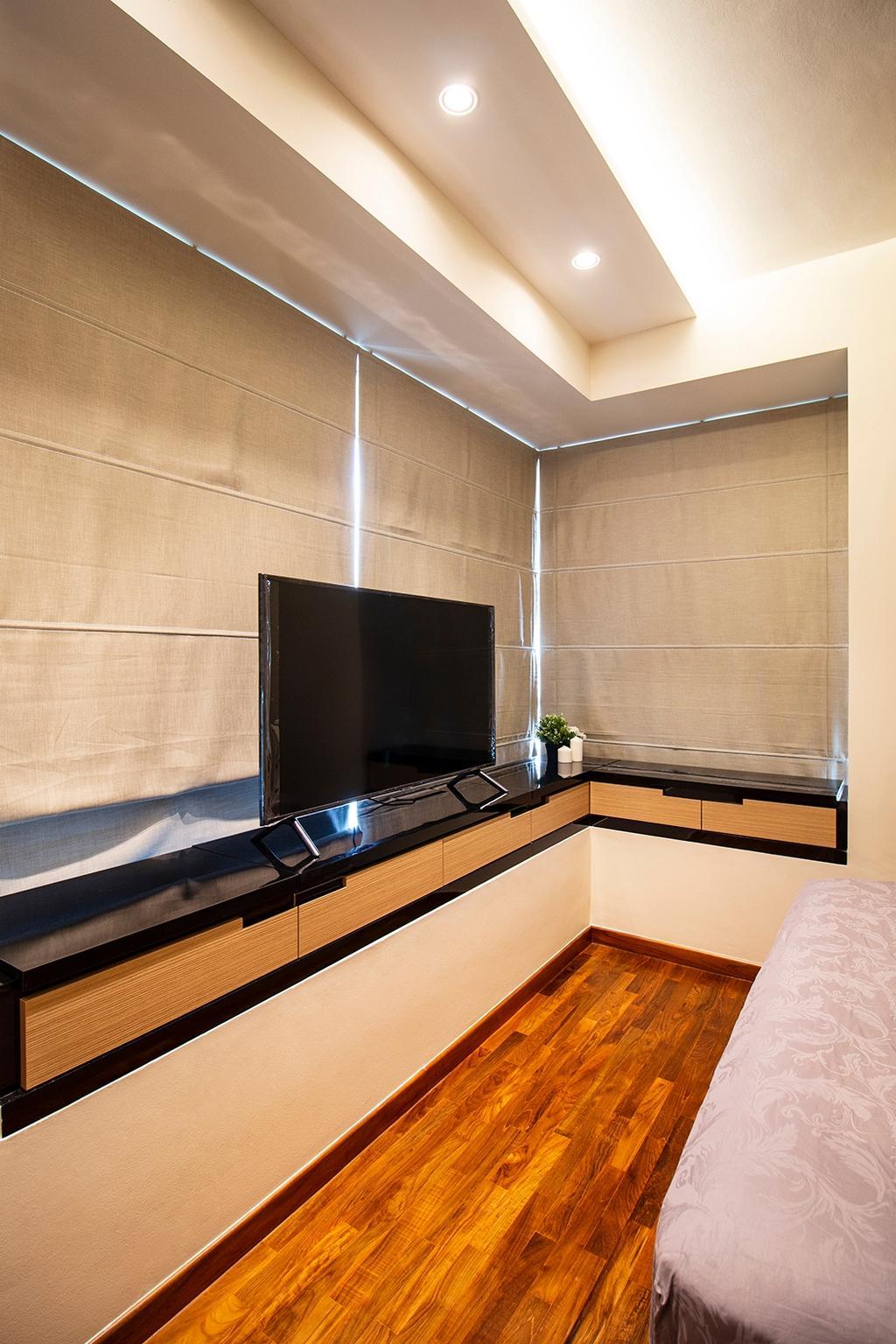 Contemporary, Condo, Bedroom, Kovan Melody, Interior Designer, Noble Interior Design