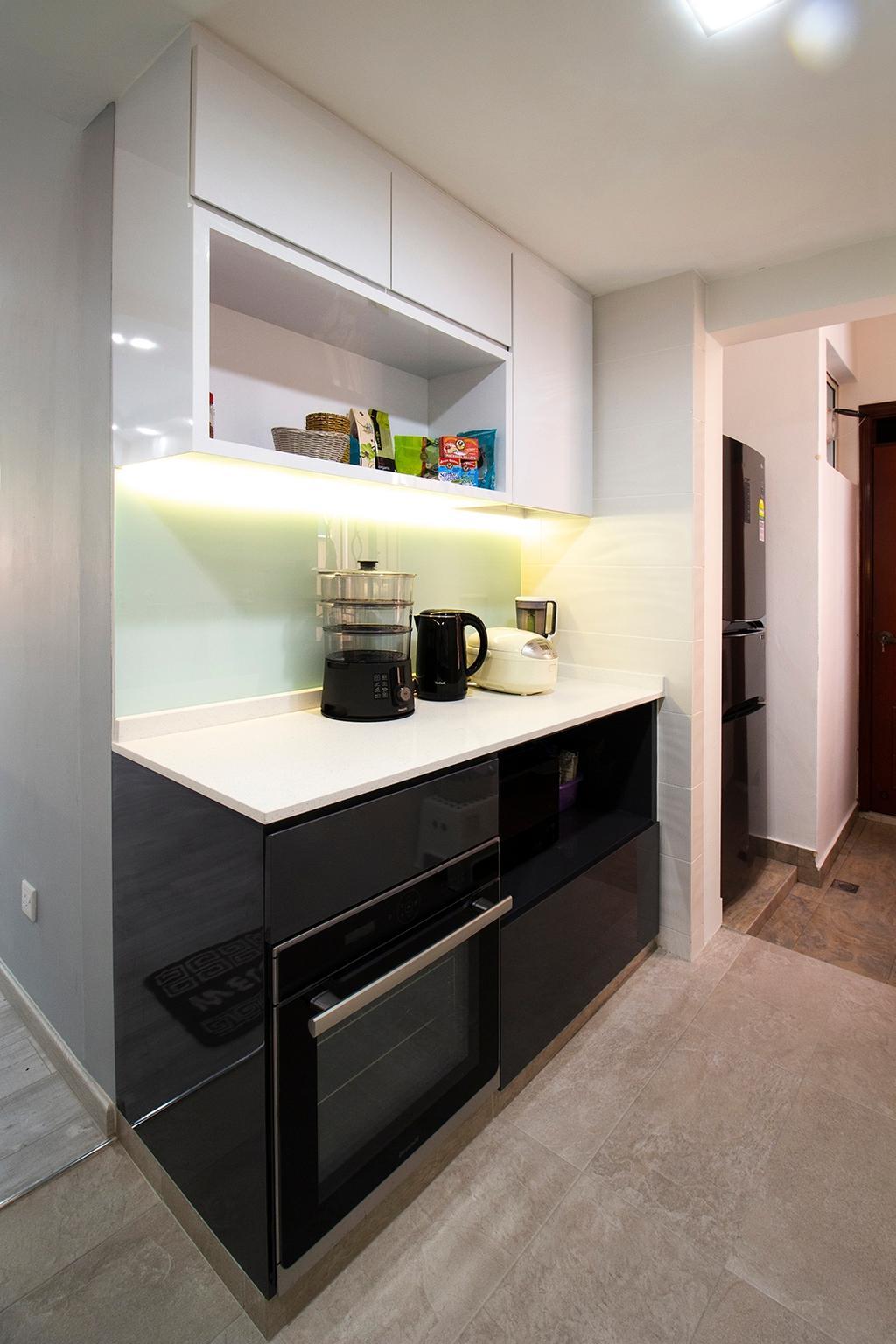 Modern, Condo, Kitchen, Seletar Springs, Interior Designer, Noble Interior Design