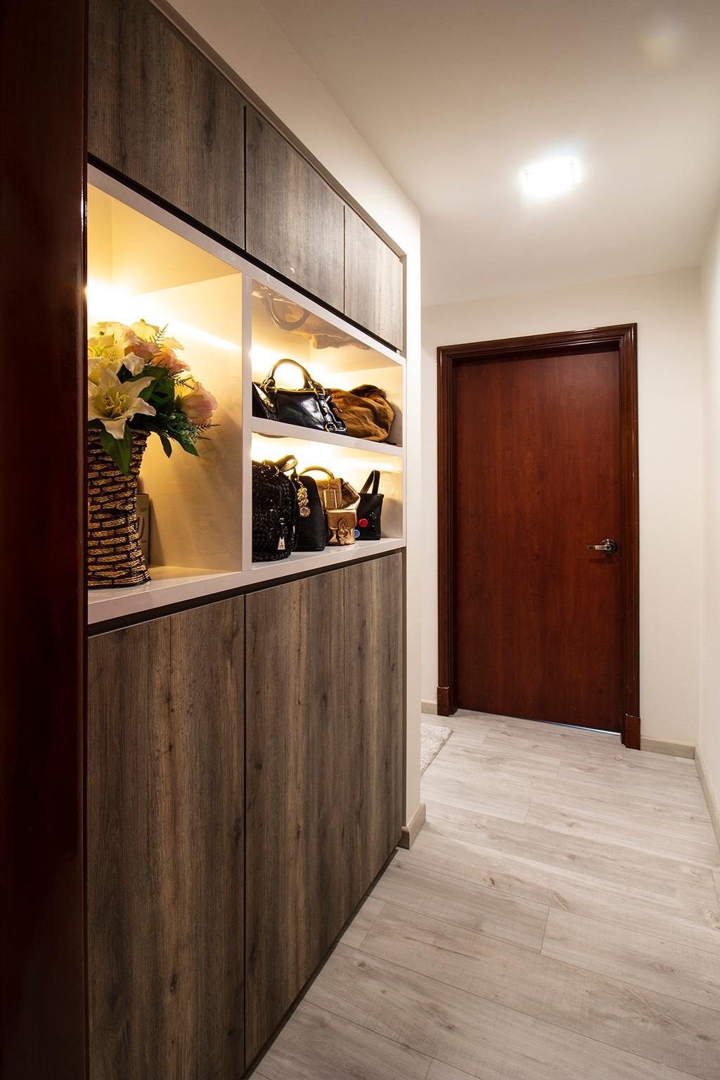 Modern, Condo, Living Room, Seletar Springs, Interior Designer, Noble Interior Design