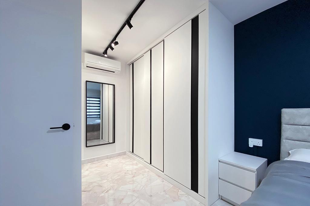 Contemporary, HDB, Bedroom, Yishun Street 21, Interior Designer, Noble Interior Design
