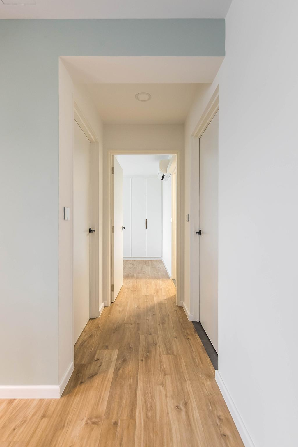 Minimalistic, HDB, Living Room, Alkaff Crescent, Interior Designer, Noble Interior Design