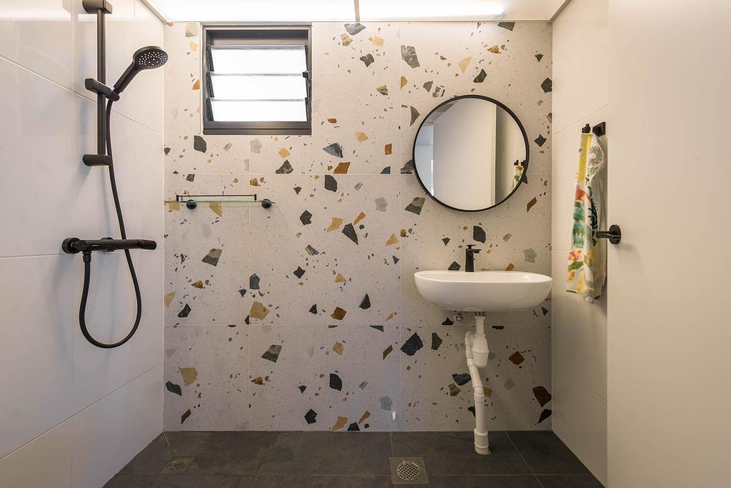 Minimalistic, HDB, Bathroom, Alkaff Crescent, Interior Designer, Noble Interior Design