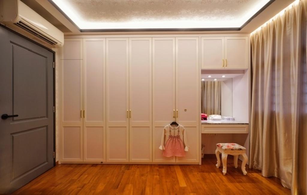 Transitional, HDB, Bedroom, Keat Hong Close, Interior Designer, Groove Interior Design